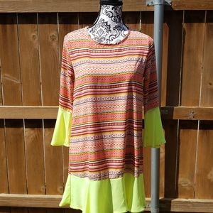 Vibrantly Colored Dress
